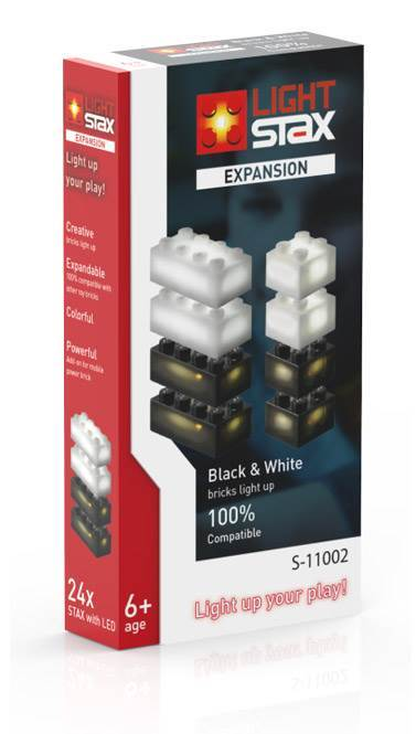 STAX® Expansion Pack - black & white - LEGO®-kompatibel