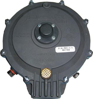 Impco Regler PEV-1-1 /  2-stufig für Erdgas