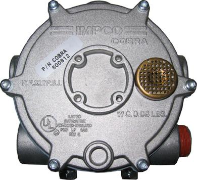 Impco Verdampfer Druckregler CB-D Feder blau - 1,5 mbar