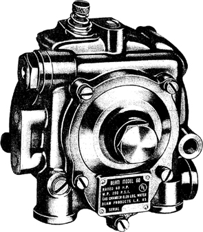 Impco (Beam) Verdampfer Druckregler T-60-B mit Primer