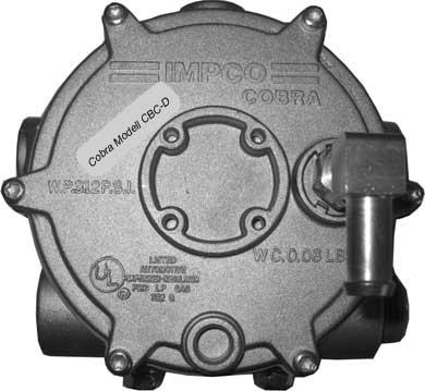 Impco Verdampfer Druckregler CBC-D mit check-Ventil