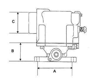 Impco Mischer CA55-598-2 Clark 1 1/4