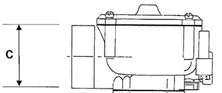 Impco Mischer CA200M-1-1 Air Horn 67mm