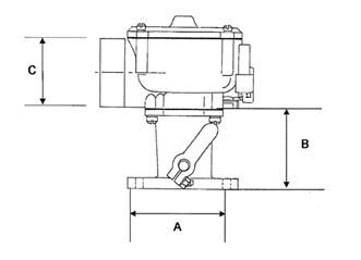 Impco Mischer CA200M-2 Air Horn 78mm
