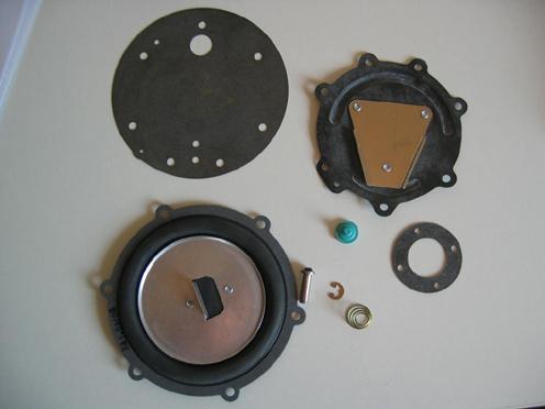Reparatur-Satz für  Erdgasregler RK-PK/PC