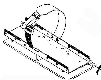 Flaschenhalter kippbar mit  Schnappverschluss 540x305x380mm