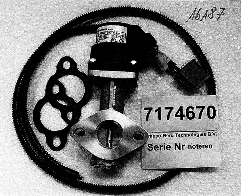 Drehzahlregler elektr. 4,3L V6 GM-Motor