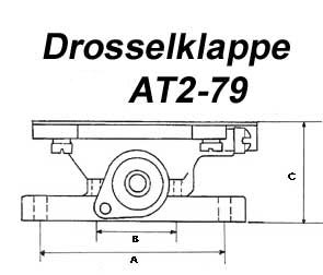 Impco Drosselklappe AT2-79 1