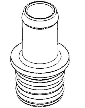 Impco Gasfitting gerade Spectrum 16mm mit O-Ringe AF4-31260-001