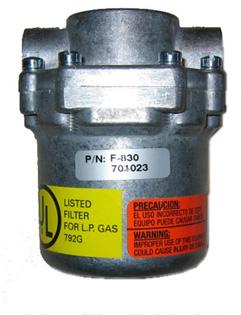 Impco Filter F-830 / 2x 1/4