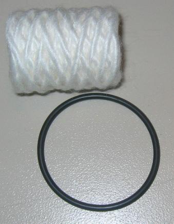 Filterpatrone mit O-Ring 286-1827 für Century-Filter Nr: 2385-B