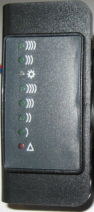 LED Fernanzeige 032004.1 mit  Halter 032033