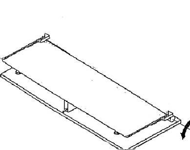 Kippvorrichtung für Tank / Flaschenhalter (Schraubsicherung) mit Grundplatte