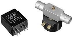 Elektromagnetisches Absperrventil 12V gerade Tülle 16mm mit Arbeitsstromrelais