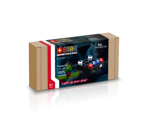 STAX® Mobile Power Brick Extra (4x4) - LEGO®-kompatibel