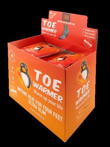 Zehenwärmer (40 Paar) - gegen kalte Zehen! ONLY HOT®