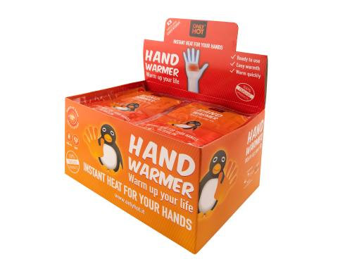 Handwärmer (40 Paar) - gegen kalte Hände! ONLY HOT®