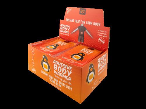 Körperwärmer (40 Stk) - gegen Kälte am Körper! ONLY HOT®