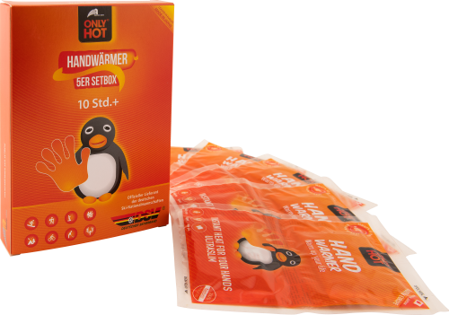 Handwärmer (5 Paar) - gegen kalte Hände! Von ONLY HOT®