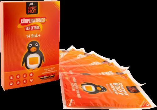 Körperwärmer (5 Stk) - gegen Kälte am Körper! Körperwärmer von ONLY HOT®
