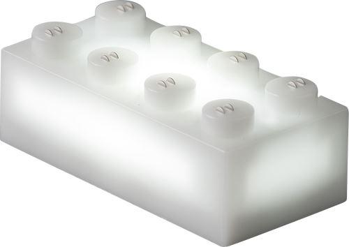 25 x STAX® 2x4 Weiß matt - LEGO®-kompatibel