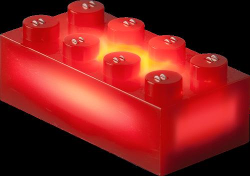 25 x STAX® 2x4 Rot matt - LEGO®-kompatibel