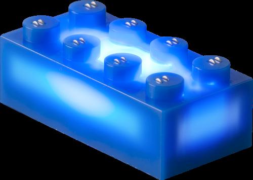 25 x STAX® 2x4 Blau matt - LEGO®-kompatibel