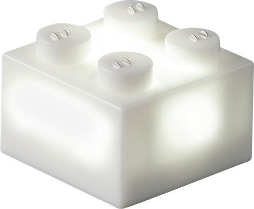 25 x STAX® 2x2 Weiß matt - LEGO®-kompatibel