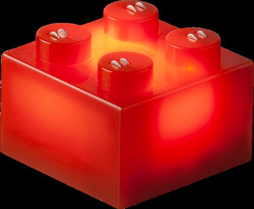 25 x STAX® 2x2 Rot matt - LEGO®-kompatibel