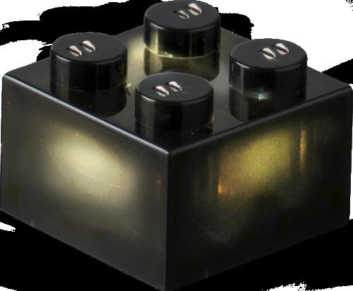 25 x STAX® 2x2 Schwarz matt - LEGO®-kompatibel