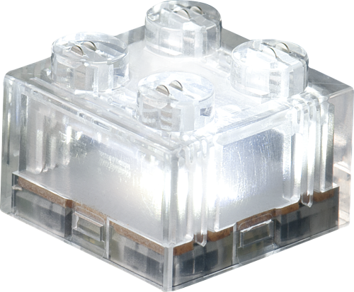 STAX® 2x2 Weiß transparent