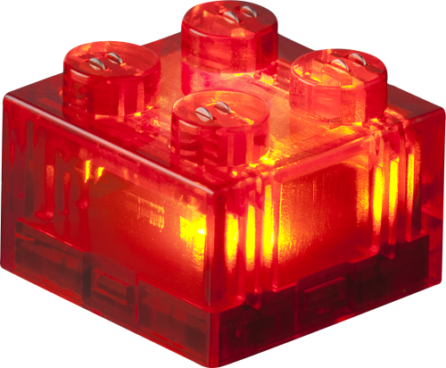 STAX® 2x2 Rot transparent