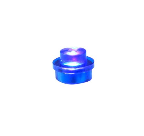 25 x STAX® 1x1 Blau transparent - LEGO®-kompatibel