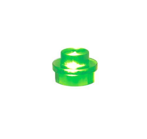 25 x STAX® 1x1 Grün transparent - LEGO®-kompatibel