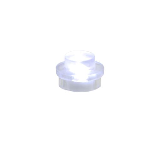 25 x STAX® 1x1 Weiß transparent - LEGO®-kompatibel
