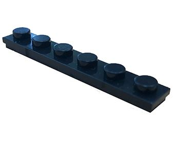 25 x STAX ® Connector 1x6 Schwarz