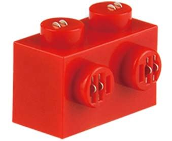 25 x STAX ® Angle connector 1x2 Rot matt