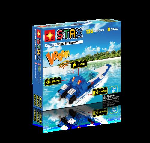 STAX ® Speedboat - LEGO®-kompatibel