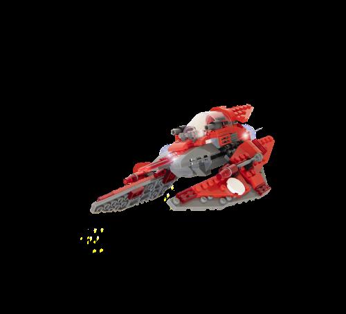 STAX® Raumschiff - LEGO®-kompatibel