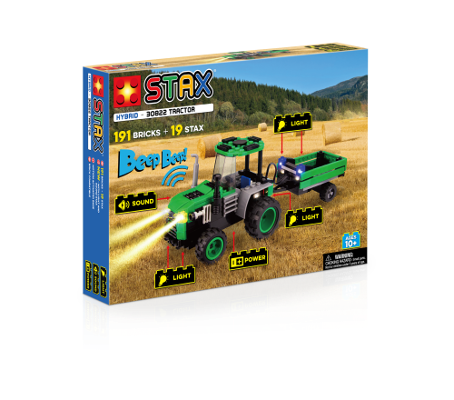 STAX® Traktor - LEGO®-kompatibel