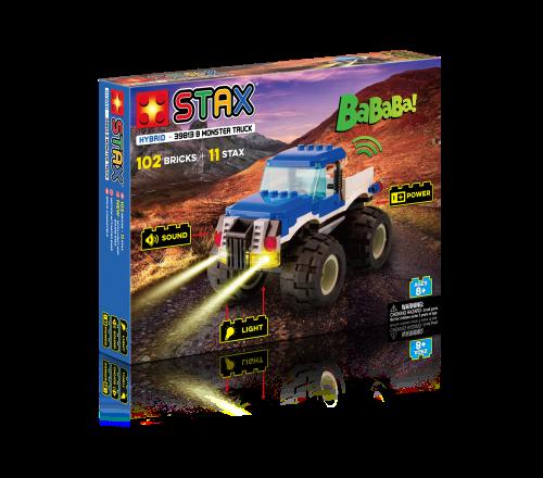 STAX® Blauer Monster Truck - LEGO®-kompatibel
