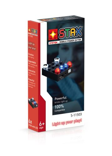 STAX® Mobile Power Brick Extra (4x4) - LEGO®-kompatibel