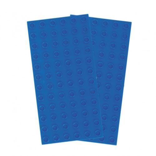 Strictly BRIKS BBP6122BL Bauplatte 6x12 BIG BRIKS Blau Duopack