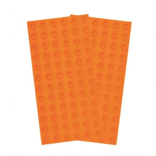 Strictly BRIKS BBP6122OR Bauplatte 6x12 BIG BRIKS Orange Duopack