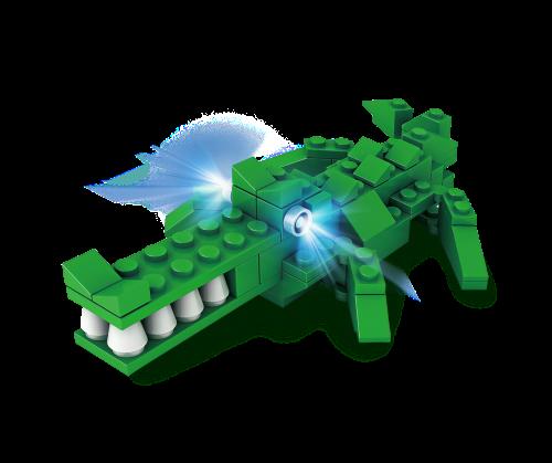 STAX® Krokodil - H11101 LEGO®-kompatibel
