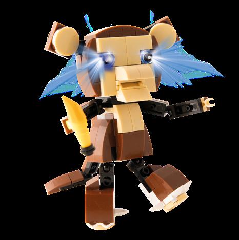 STAX® Affe - LEGO®-kompatibel