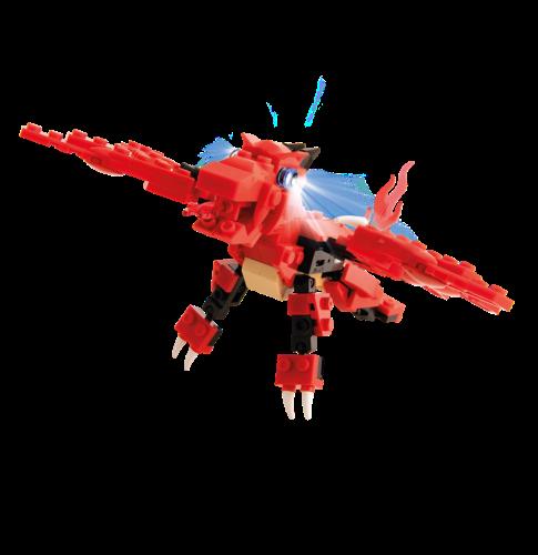 STAX® Roter Drache - LEGO®-kompatibel
