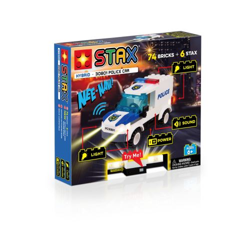 STAX Police Car - 30801 LEGO-kompatibel
