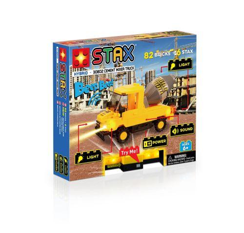 STAX Cement Mixer Truck LS-30802 - LEGO-kompatibel