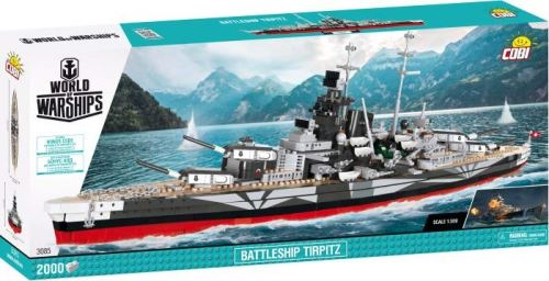 COBI - Small Army Battleship Tirpitz